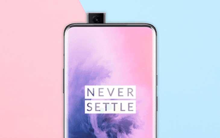 OnePlus 7 Slider-Kamera