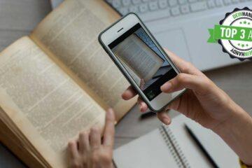 Scanner-App: Handy scannt Buch