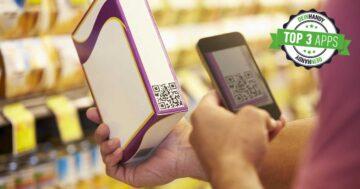 QR-Code-App: Handy scannt einen Code