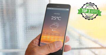 Wetter-App: Die 3 besten kostenlosen Wettervorhersagen im Test