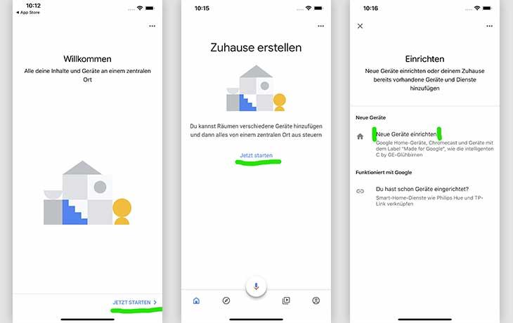 Chromecast mit iPhone nutzen: Google Home App