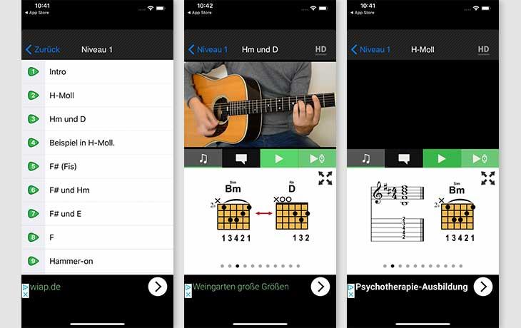 Gitarre-Lernen App für Anfänger