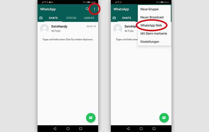 Whatspp Web Android Screenshot