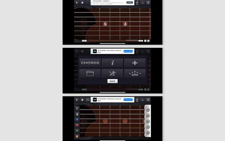 Gitarre-Lernen Apps: Virtual