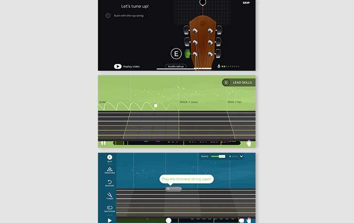 Gitarre-Lernen Apps: Yousician