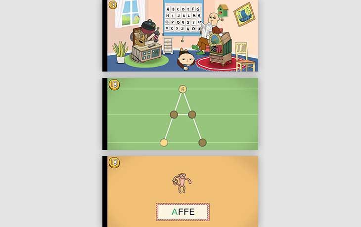 Spiel ABC Willi Wiberg Screenshots
