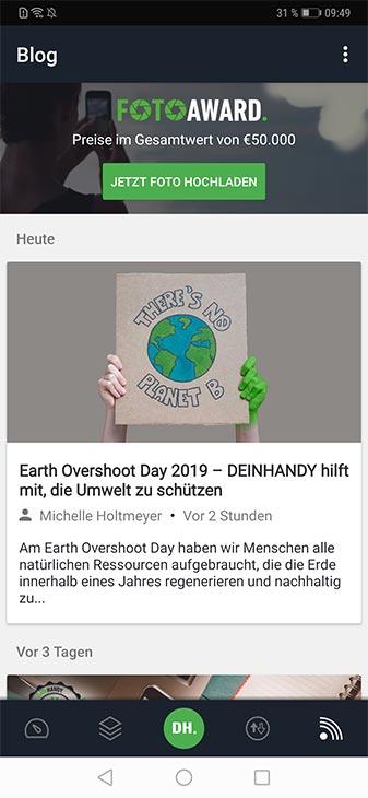 DEINHANDY App Screenshot Ratgeber