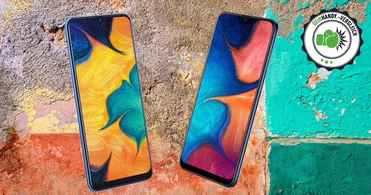 Galaxy A20 vs. Galaxy A30