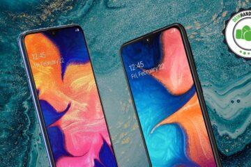 Galaxy A20e vs. Galaxy A10