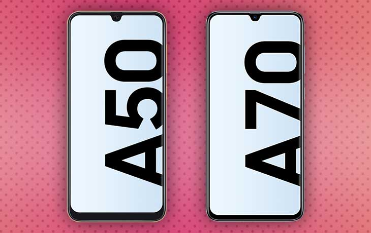 Galaxy A50 vs. A70