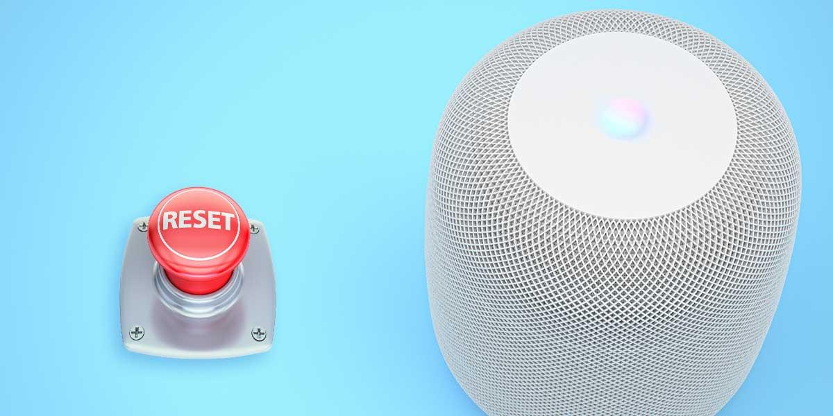 Apple HomePod zurücksetzen