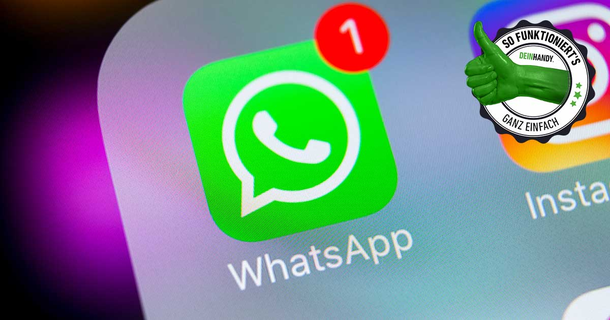 WhatsApp-Kontakt blockieren: WhatsApp Logo