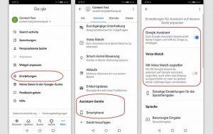 Ok Google aktivieren: Screenshots Handy
