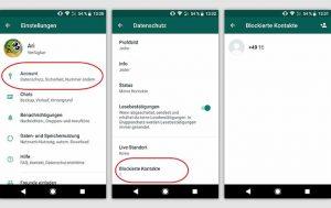 WhatsApp-Kontakt blockieren: WhatsApp-Kontakt blockieren bei einem Android-Handy