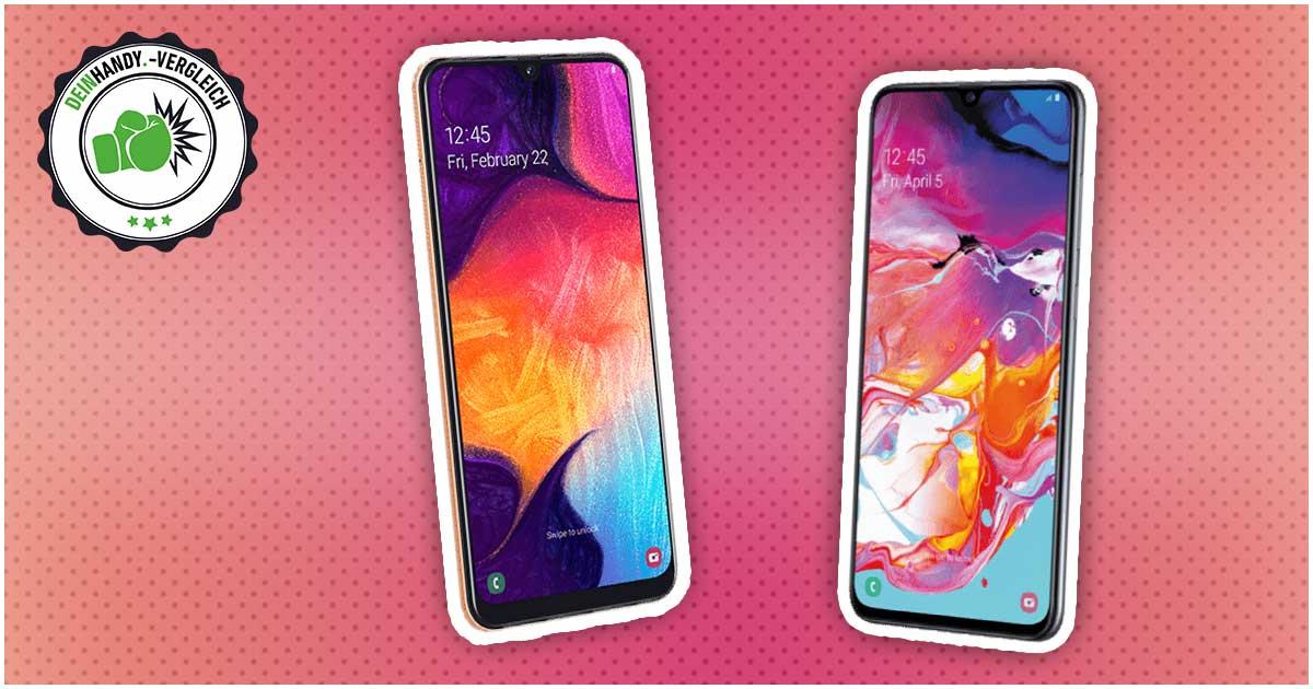 Samsung Galaxy A50 vs. Galaxy A70