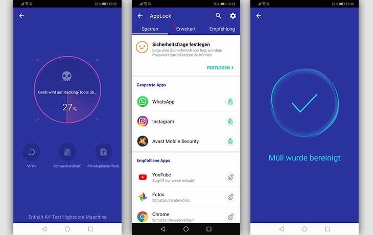 Master Security App Screenshots