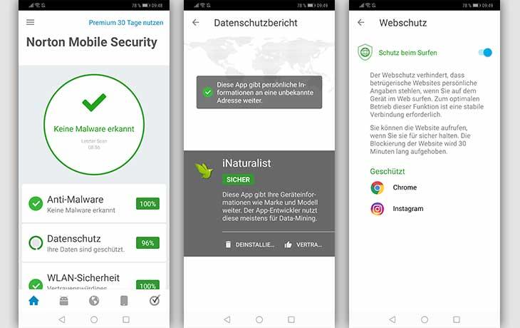 Norton by Symantec App Screenshots