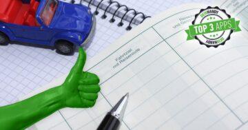 Fahrtenbuch-App: Die 3 besten Apps für Dienstwagen-Fahrten im Test