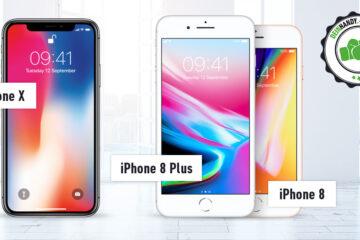 iPhone 8 (Plus) vs. iPhone X: Apple im Vergleich