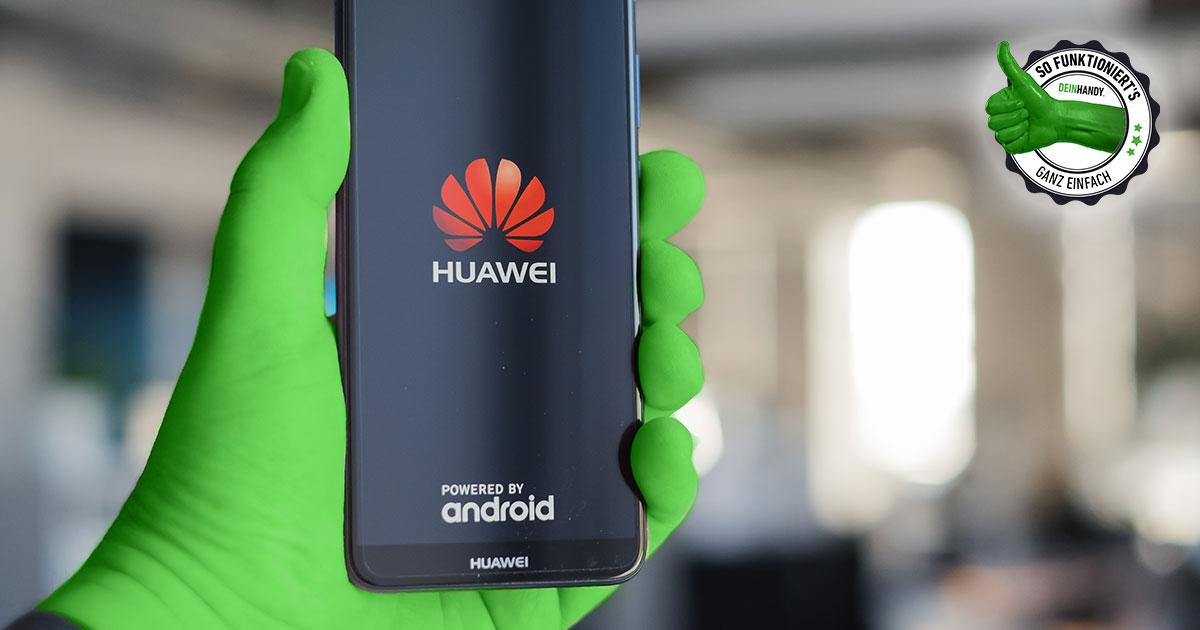 Huawei zurücksetzen