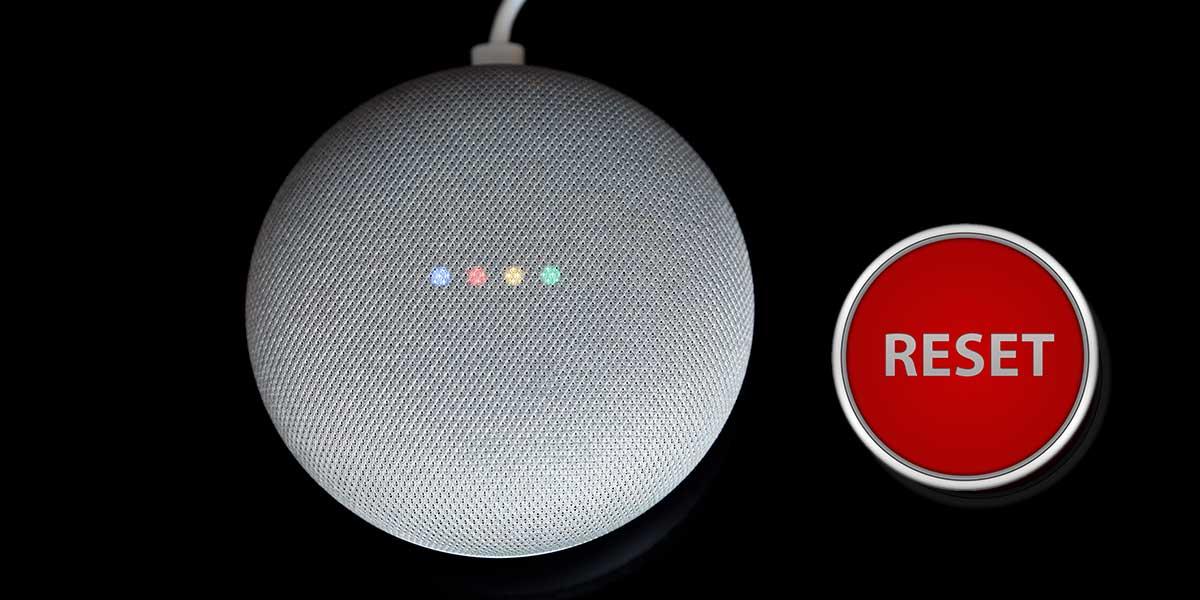 Google Home zurücksetzen