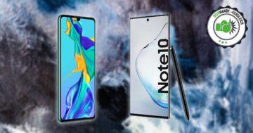 Samsung Note10 vs. Huawei P30: Vergleich der Kraftpakete