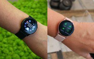 Galaxy Watch Active 2 vs. Galaxy Watch Active: Zwei Uhren am Handgelenk