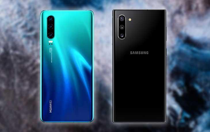 Samsung Note10 vs. Huawei P30: Leistung
