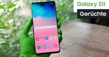 Samsung Galaxy S20: Erscheinungsdatum, Gerüchte und Infos
