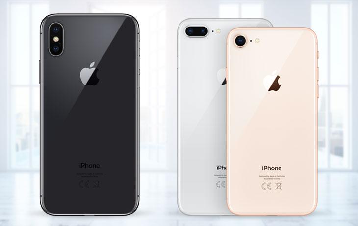 iPhone 8 (Plus) vs. iPhone X