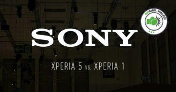 Xperia 5 vs. Xperia 1: Sonys neue Smartphones im Vergleich