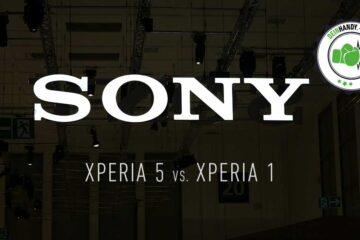 Xperia 5 vs. Xperia 1: Vergleich