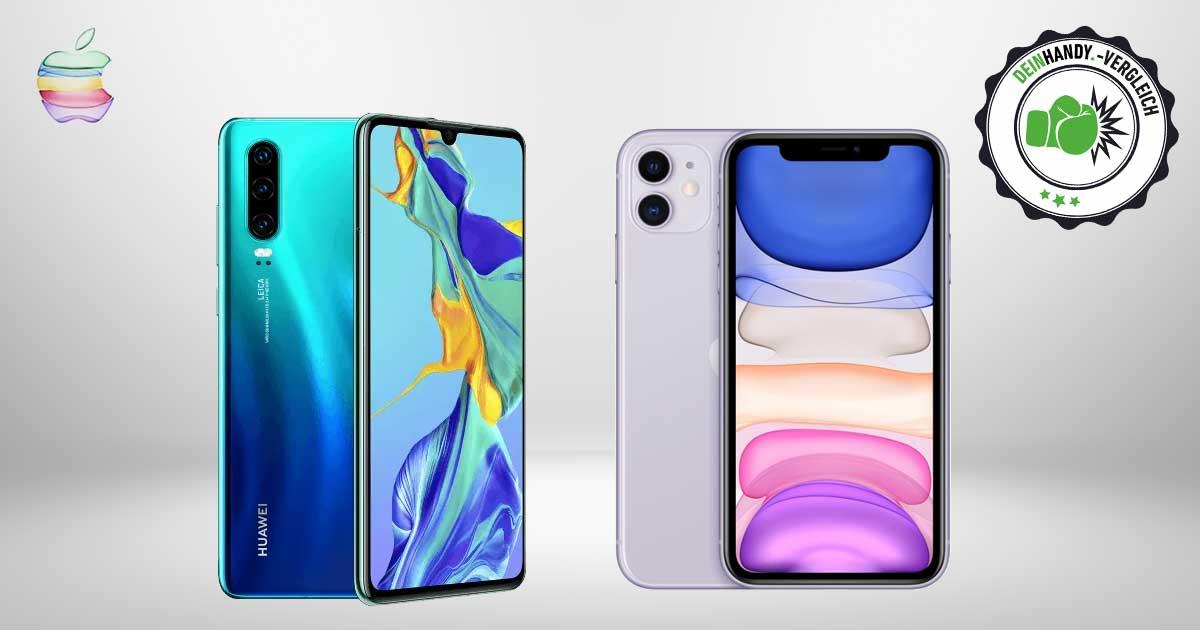iPhone 11 vs. Huawei P30: Vergleich
