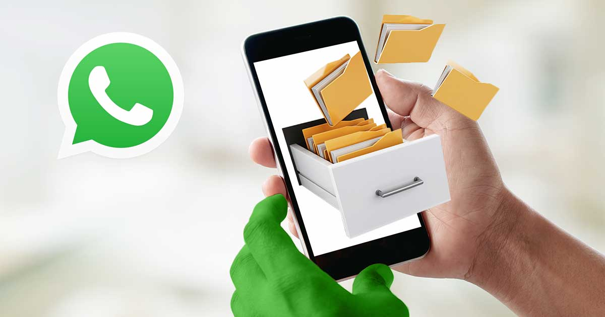 WhatsApp Speicherort ändern