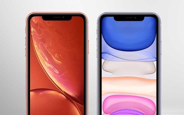 iPhone 11 vs. iPhone Xr: Handys von vorne im Vergleich