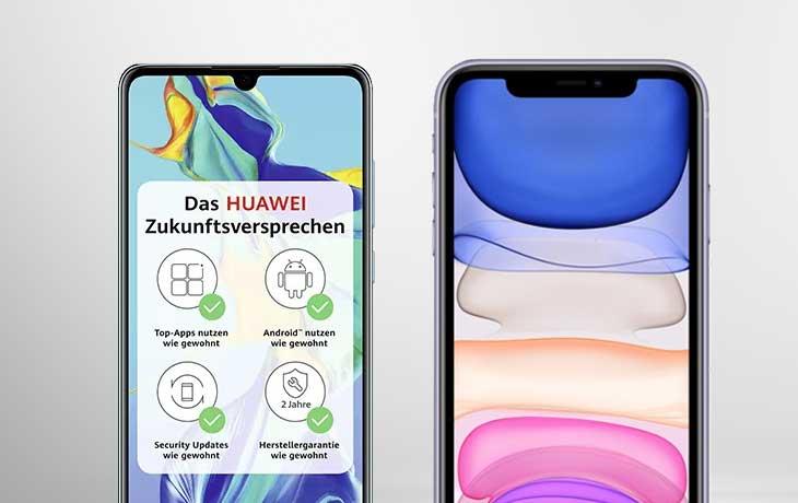 iPhone 11 vs. Huawei P30: Fazit