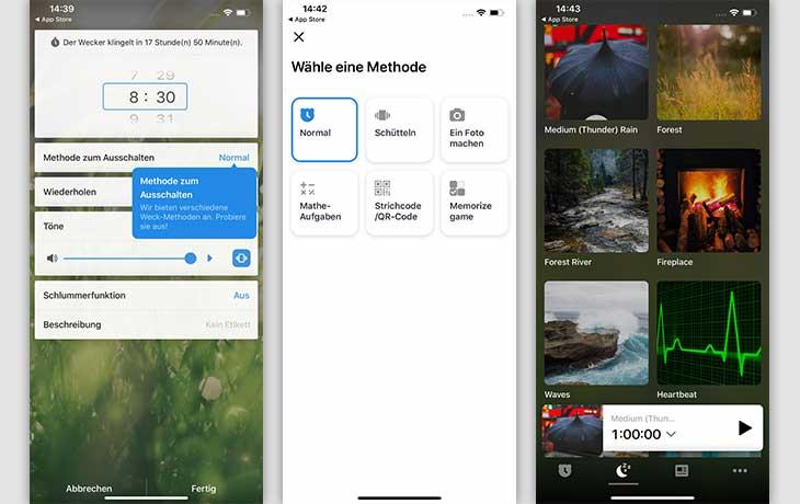 Wecker-App: Alarmy