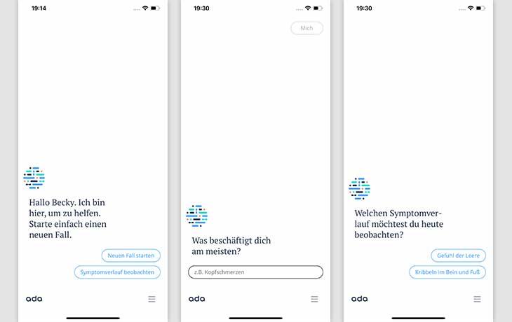 Gesundheits-Apps für Android und iOS