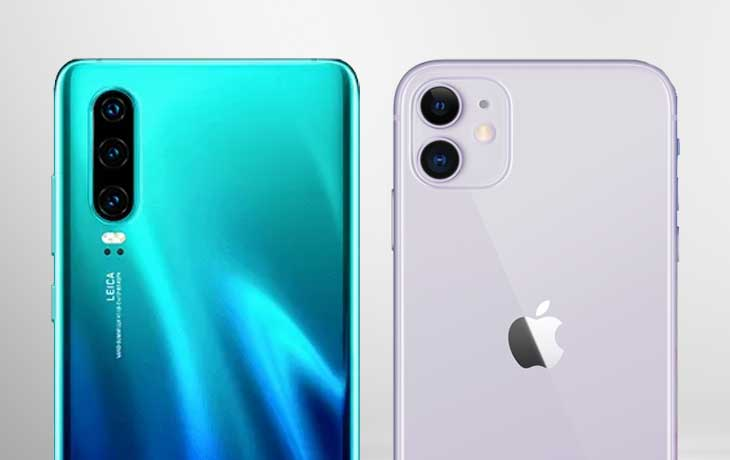 iPhone 11 vs. Huawei P30: Leistung