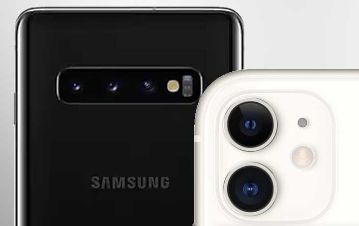 Vergleich Kamera iPhone 11 und Galaxy S10
