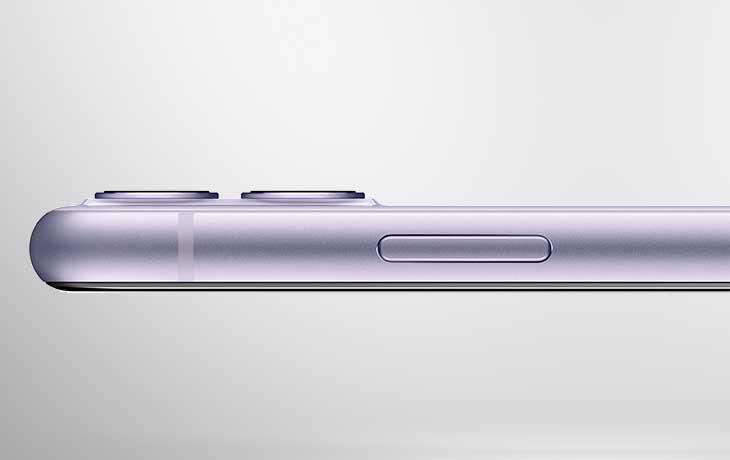 iPhone 11 vs. iPhone Xr: iPhone 11 Seitansicht