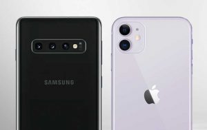 iPhone 11 Pro vs. iPhone 8 Plus: Beide Smartphones von hinten