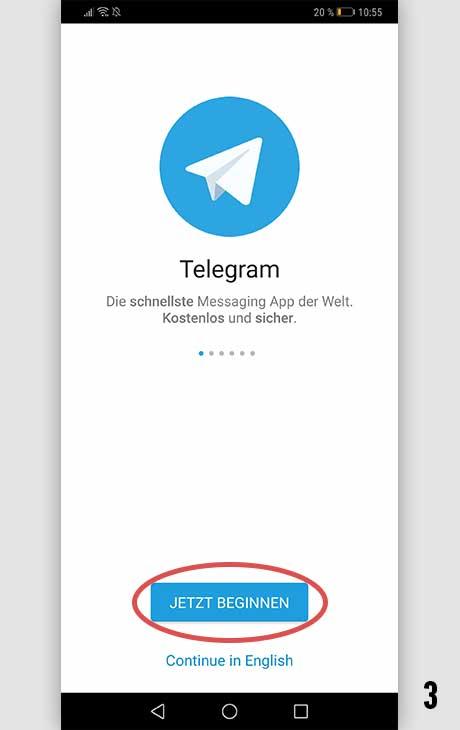Telegram installieren Android 3
