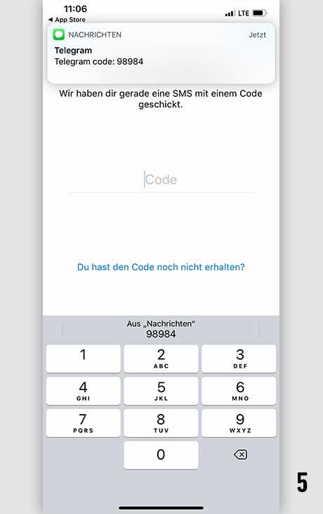 Telegram installieren iOS 5