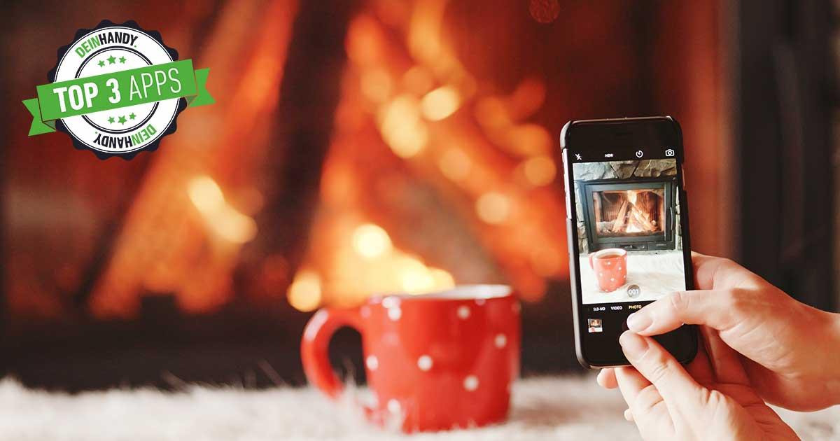 Kaminfeuer-App: Die 3 besten kostenlosen Kamin-Apps