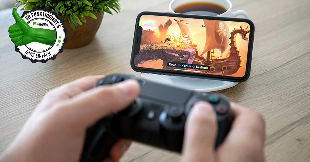 PS4-Controller mit Handy verbinden