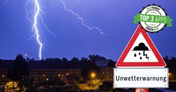 Warnwetter-App: Die 3 besten kostenlosen Unwetter-Apps