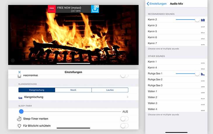 Kaminfeuer-App: Kamin HD