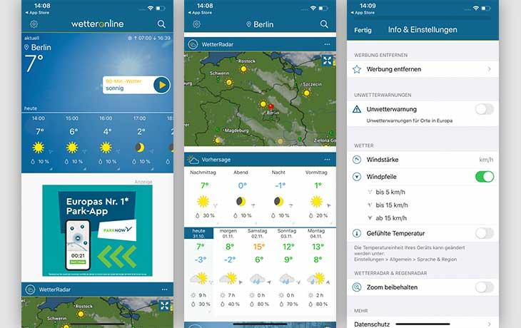 WetterOnline – Wetter App