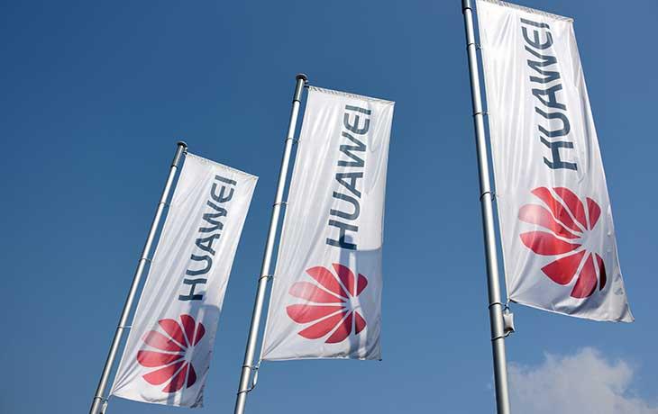 Huawei Flag